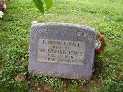Florence Minnie <I>Hall</I> Jones