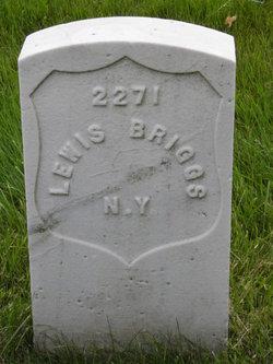 Pvt Lewis Briggs