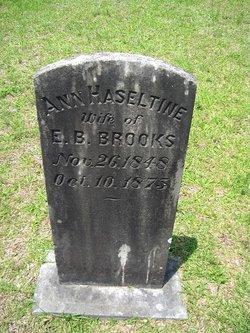 Ann Hazeltine <I>Strom</I> Brooks