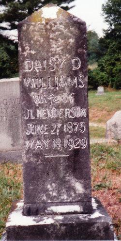 Daisy Douglas <I>Williams</I> Henderson