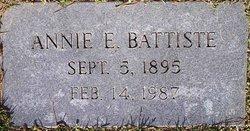 Annie Ethel <I>Browning</I> Battiste