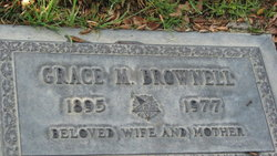 Grace Miriam <I>Witherell</I> Brownell