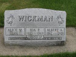 Ida P <I>Deetz</I> Wickman