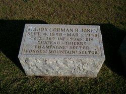 Maj Gorman R Jones