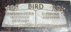 Barbara <I>Dunn</I> Bird