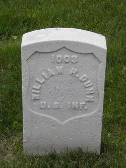 Pvt William H. Dunn