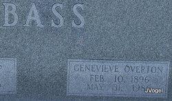 Genevieve <I>Overton</I> Bass