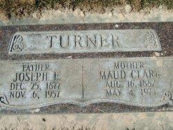 Maud <I>Clark</I> Turner