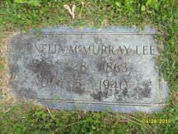 Cornelia <I>McMurray</I> Lee