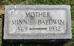 Minnie <I>Allfree</I> Baldwin