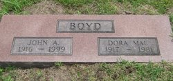 Dora Mae <I>Kilmer</I> Boyd