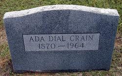 Ada C. <I>Dial</I> Crain