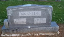 Susie F. <I>Branscom</I> McBride