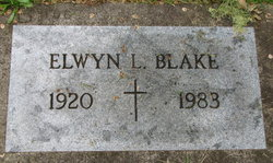 Elwyn L. Blake