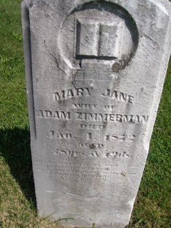 Mary Jane <I>Keefauver</I> Zimmerman