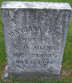 Mandana <I>Gray</I> Adams