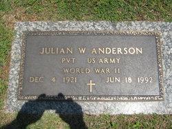Julian W. Anderson