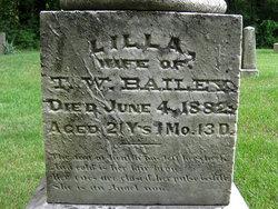 Lilla Morton <I>Wagner</I> Bailey