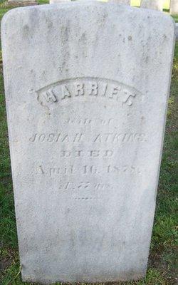 Harriet <I>Atherton</I> Atkins