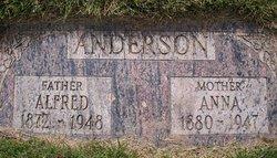 Anna <I>Erickson</I> Anderson