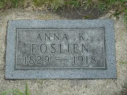 Anna K Foslien