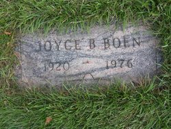 Joyce Blanche <I>Gustafson</I> Boen