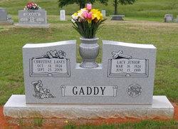 Christine <I>Laney</I> Gaddy