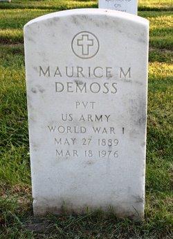 Maurice M DeMoss
