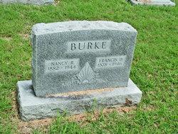 Nancy <I>Rowland</I> Burke