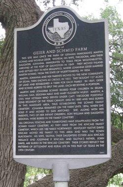 Martin Schmid Family Cemetery