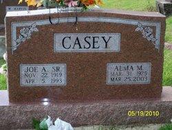 Alma Mae <I>Goodman</I> Casey
