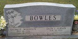 Everett Woodson Bowles