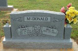 Edna <I>Snodgrass</I> McDonald