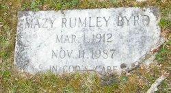 Mazy Irismagdalene <I>Rumley</I> Byrd