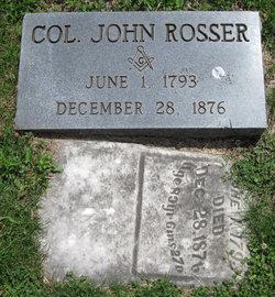 """Col. John """"Jack"""" Rosser"""