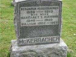 Margaret T <I>Kirkham</I> McKerracher
