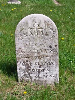 Sarah <I>Embree</I> Adams