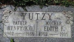 Edith F Yutzy