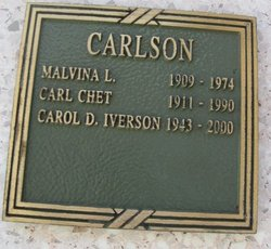 Carol Diane <I>Carlson</I> Iverson