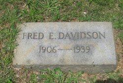Fred E Davidson