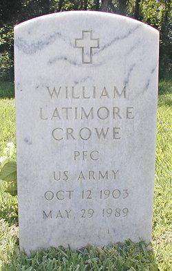 William Latimore Crowe