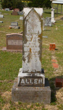 Ludie <I>Anderson</I> Allen