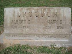 Albert D Brogdon