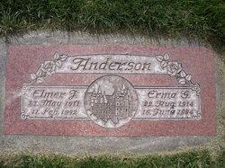 "Elmer Joseph ""Andy"" Anderson"