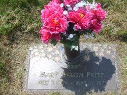 """Mary """"Dixie"""" <I>Dixon</I> Balon-Fritz"""