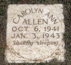 Carolyn Ann Allen