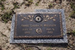 Annie Laura <I>Holley</I> Moseley