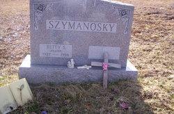 Betty S <I>Heater</I> Szymanosky