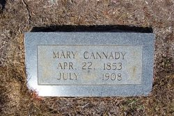 Mary <I>Cheek</I> Cannady