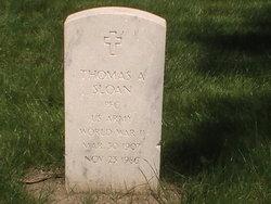 Thomas A Sloan
